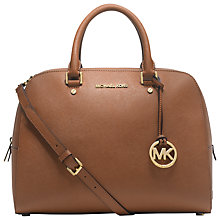 Buy MICHAEL Michael Kors Jet Set Travel Large Satchel Bag Online at johnlewis.com