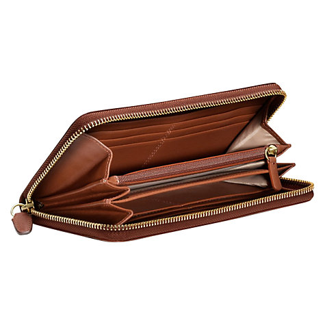 Buy Coach Legacy Accordian Zip Around Wallet Online at johnlewis.com