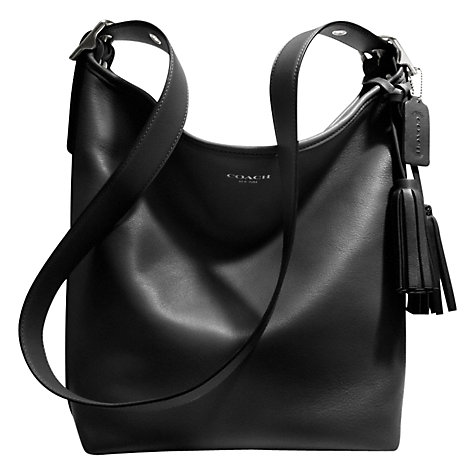 Buy Coach Legacy Leather Duffle Shoulder Handbag Online at johnlewis.com