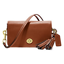 Buy Coach Legacy Penny Leather Shoulder Handbag Online at johnlewis.com