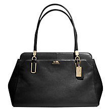 Buy Coach Madison Kimberly Leather Grab Bag Online at johnlewis.com