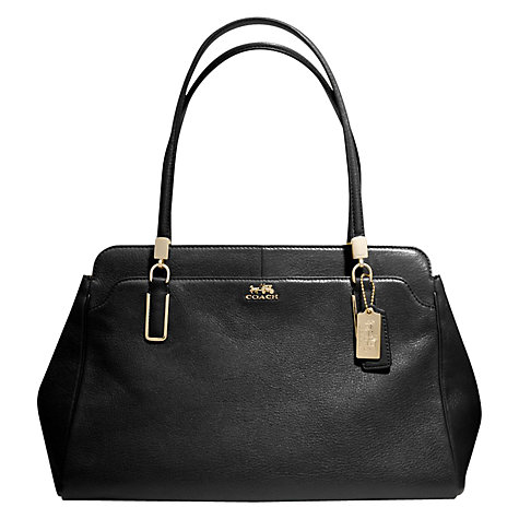 Buy Coach Madison Kimberly Leather Grab Handbag Online at johnlewis.com