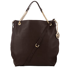 Buy MICHAEL Michael Kors Jet Set Chain Strap Shoulder Handbag Online at johnlewis.com