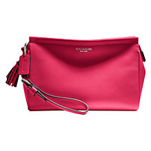 Buy Coach Legacy Large Wristlet, Scarlet Online at johnlewis.com