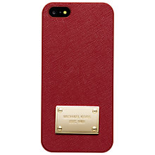 Buy MICHAEL Michael Kors Electronics iPhone 5 Cover Online at johnlewis.com