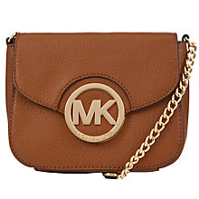 Buy MICHAEL Michael Kors Fulton Small Cross Body Bag Online at johnlewis.com
