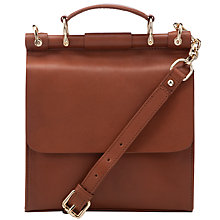 Buy Somerset by Alice Temperley Ennismore Small Top Handle Satchel Bag, Tan Online at johnlewis.com