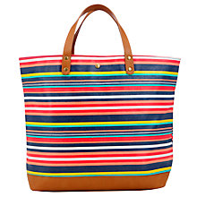 Buy Collection WEEKEND by John Lewis Shopper Handbag, Stripe Multi Online at johnlewis.com
