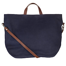 Buy Kin by John Lewis Canvas Grab Bag, Navy Online at johnlewis.com