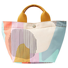 Buy Fossil Key-Per Mini Shopper Handbag, Pastel Multi Online at johnlewis.com