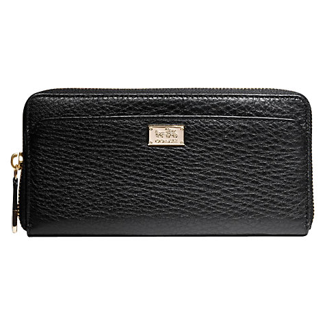 Buy Coach Madison Accoridan Zip Wallet Online at johnlewis.com