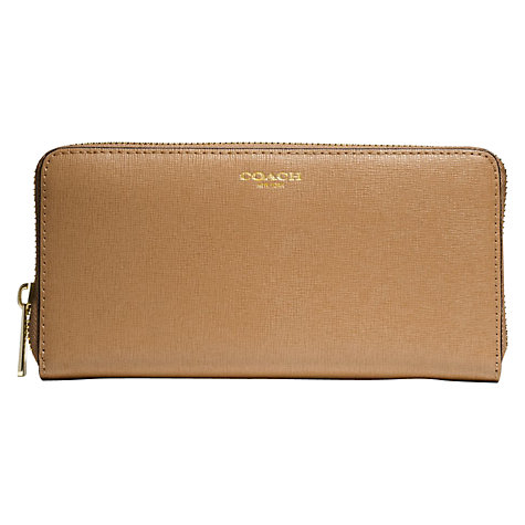 Buy Coach Accordion Zip Wallet Online at johnlewis.com