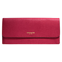 Buy Coach Saffiano Soft Wallet Online at johnlewis.com