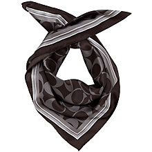 Buy Coach Basic Signature Scarf Online at johnlewis.com