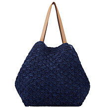 Buy Collection WEEKEND by John Lewis Straw Shopper Online at johnlewis.com