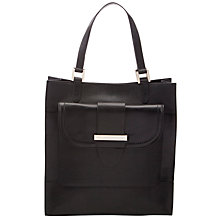 Buy Somerset by Alice Temperley Portway Leather Shoulder Bag, Black Online at johnlewis.com