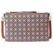 Buy Fossil Sydney Small Travel Across Body Handbag, Orange Online at johnlewis.com