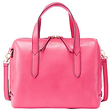 Buy Fossil Sydney Leather Satchel Online at johnlewis.com