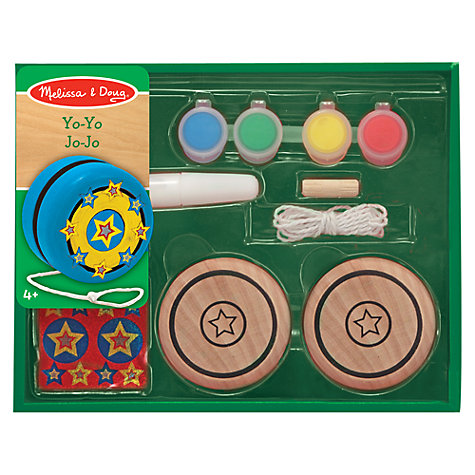 Buy Melissa & Doug Create Your Own Wooden Yo-yo Online at johnlewis.com