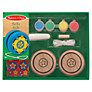 Melissa & Doug Create Your Own Wooden Yo-yo