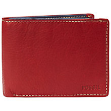 Buy Fossil Mercer International Bifold Wallet Online at johnlewis.com