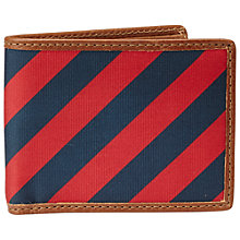 Buy Fossil Pierce Preppy Bifold Wallet, Red Online at johnlewis.com