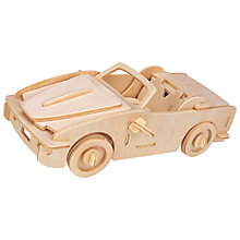 Buy Professor Puzzle Sports Car Construction Kit and Paint Set Online at johnlewis.com