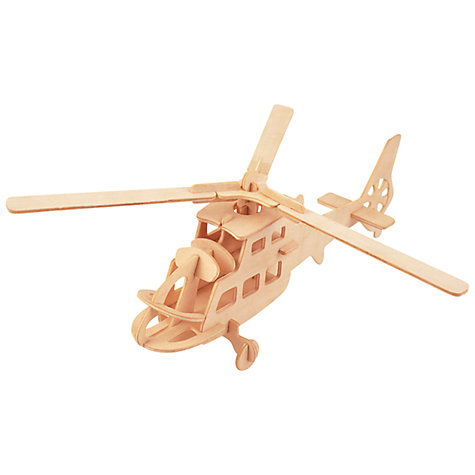 Buy Professor Puzzle Helicopter Construction Kit and Paint Set Online at johnlewis.com