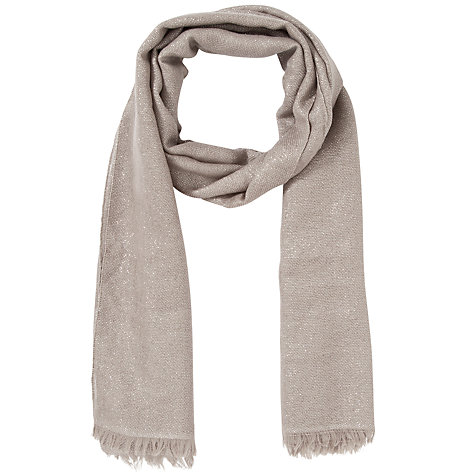 Buy John Lewis Shimmer Occasion Wrap, Grey Online at johnlewis.com