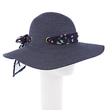 Buy John Lewis Sash Tie Floppy Sun Hat Online at johnlewis.com
