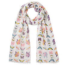 Buy Collection WEEKEND by John Lewis Butterfly Print Scarf, Multi Online at johnlewis.com