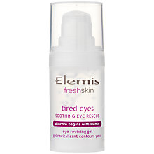 Buy Elemis Tired Eyes Soothing Eye Rescue, 15ml Online at johnlewis.com