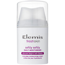 Buy Elemis Softly Softly Daily Moisuriser, 50ml Online at johnlewis.com