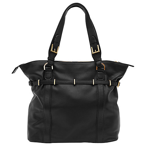 Buy Reiss Ines Large Shoulder Bag, Black Online at johnlewis.com