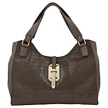 Buy Reiss Sina Shoulder Bag, Olive Online at johnlewis.com