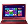 "Buy Samsung ATIV Book 9 Lite Laptop, Quad-core Processor, 4GB RAM, 128GB SSD, 13.3"", Cherry Candy Red Online at johnlewis.com"