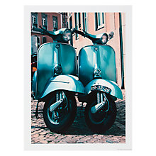 Buy House by John Lewis,  Scott Dunwoodie - New Twin Vespa Unframed Print, 30 x 40cm Online at johnlewis.com