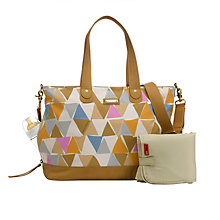 Buy Storksak Tote Changing Bag, Triangle Online at johnlewis.com