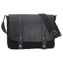 Buy Storsak Aubrey Leather Changing Bag, Black Online at johnlewis.com