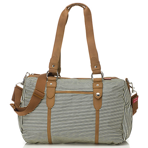 Buy Babymel Ella Changing Bag, Navy Stripe Online at johnlewis.com