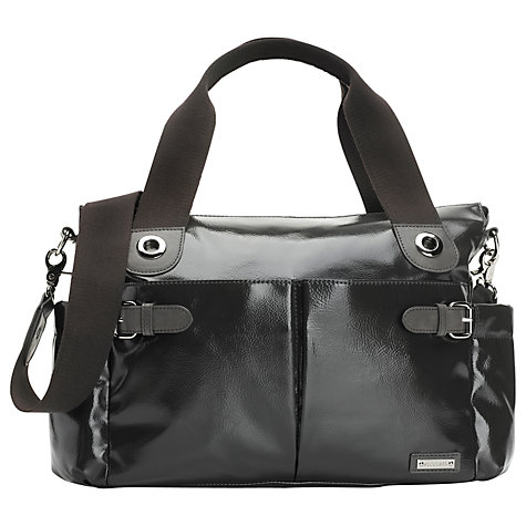 Buy Storksak Kate Changing Bag, Charcoal Online at johnlewis.com