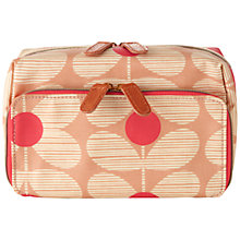 Buy Orla Kiely Flower Print Medium Wash Bag Online at johnlewis.com