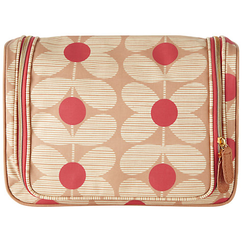 Buy Orla Kiely Flower Print Large Wash Bag Online at johnlewis.com