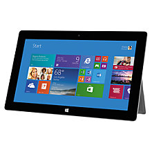 "Buy Microsoft Surface 2 Tablet, NVIDIA Tegra 4, Windows RT 8.1, 10.6"", 64GB, Wi-Fi, Magnesium Online at johnlewis.com"