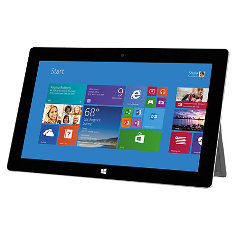 "Buy Microsoft Surface 2 Tablet, NVIDIA Tegra 4, Windows RT 8.1 & Microsoft Office RT 2013, 10.6"", 64GB, Wi-Fi, Magnesium Online at johnlewis.com"