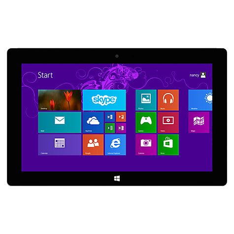 "Buy Microsoft Surface 2 Tablet, NVIDIA Tegra 4, Windows RT 8.1 & Microsoft Office RT 2013, 10.6"", 32GB, Wi-Fi, Magnesium Online at johnlewis.com"