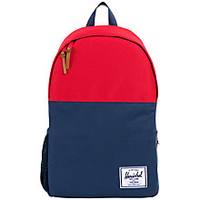 Buy Herschel Jasper Backpack, Navy/Red Online at johnlewis.com