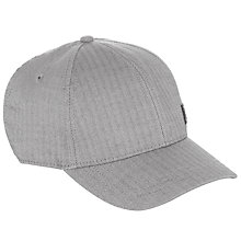 Buy Fred Perry Twill Baseball Cap, Grey Online at johnlewis.com