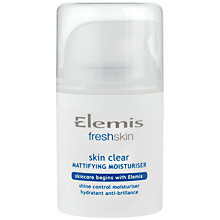 Buy Elemis Skin Clear Mattifying Moisturiser, 50ml Online at johnlewis.com