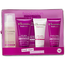 Buy Elemis Freshskin Fresh Start Discovery Skincare Set Online at johnlewis.com